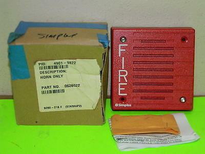 New Simplex 4901-9822 Electronic Audible Signaling Appliance Fire Alarm Horn