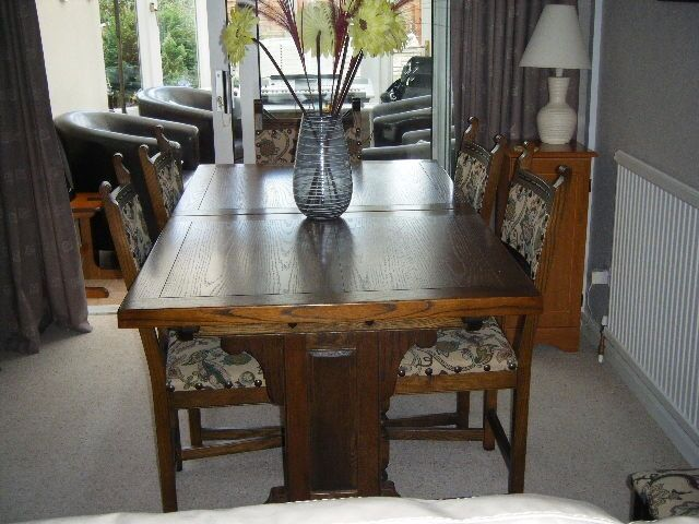 Old charm dining table chairs buy or sell find it used