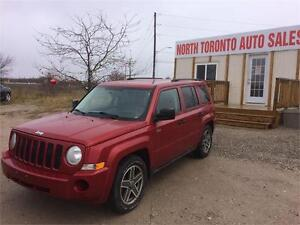 2009 JEEP PATRIOT NORTH - 4X4 - AUTOMATIC - 4 CYLINDER - CLEAN