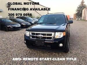 2010 FORD ESCAPE 4WD -REMOTE START- V6 -FINANCING AVAILABLE