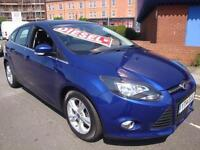 14 FORD FOCUS ZETEC TDCI 5 DOOR DIESEL 20 A YEAR ROAD TAX