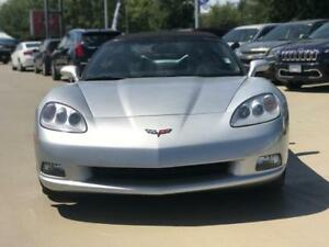 2012 Chevrolet Corvette 1LT Convertible AUTOMATIC silver low km'