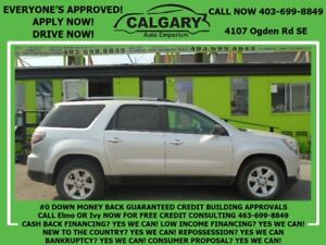 2014 GMC Acadia SLE1 *$28 DOWN  EVERYONE APPROVED*