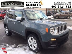 2017 Jeep Renegade LIMITED | LEATHER | MYSKY | LOADED | SPECIAL