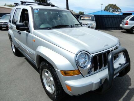 2003 Jeep Grand Cherokee WG MY2003 Limited Silver 5 Speed Automatic Wagon Enfield Port Adelaide Area Preview
