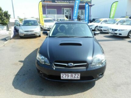 2004 Subaru Liberty MY04 GT Premium Black 5 Speed Auto Elec Sportshift Sedan Greenslopes Brisbane South West Preview