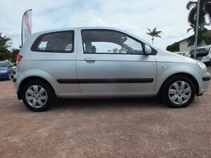 2004 Hyundai Getz TB MY04 GL Clean Silver 5 Speed Manual Hatchback Rosslea Townsville City Preview