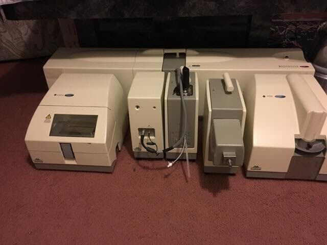 Malvern Mastersizer 2000 Particle Size Analyzer With Hydro And Scirocco