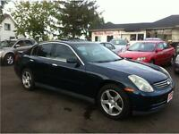 2003 Infiniti G35 Sedan Luxury ( Certified and E-Tested )