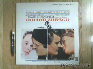 vintage Vinyl LP - DR. ZHIVAGO Soundtrack Album 1966
