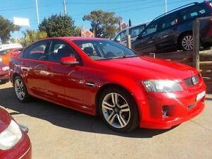 2007 Holden Commodore VE SV6 Red 5 Speed Sports Automatic Sedan North St Marys Penrith Area Preview