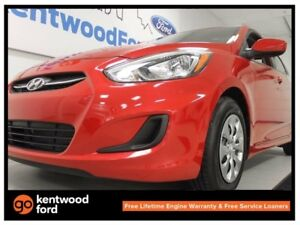 2017 Hyundai Accent Accent with heated seats! It's red hot!