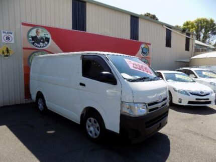 2012 Toyota Hiace TRH201R MY11 Upgrade LWB White 4 Speed Automatic Van West Gosford Gosford Area Preview