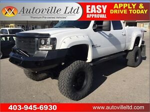 2008 GMC SIERRA SLT 2500HD DURAMAX LIFTED!! 6.6L V8