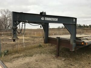 Trail Tech Gooseneck/Fifth Wheel Trailer- 24 foot deck