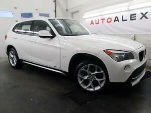 2012 BMW X1 SPORT PACK CUIR TOIT PANO MAGS 18 XDRIVE 48,000KM