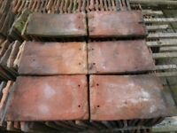 Aprox 3800 reclaimed hand made clay roof tiles