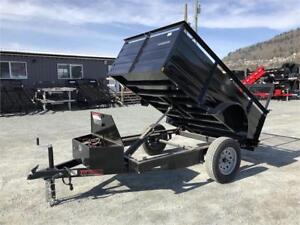 NEW 5X8 LANDSCAPE DUMP TRAILER