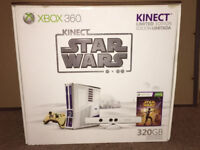 xbox 360 - star wars limited edition - R2 console and kinect