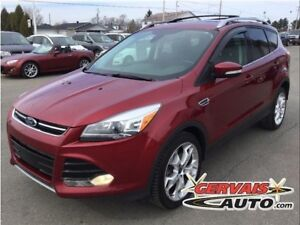 Ford Escape Titanium AWD GPS Cuir Toit Panoramique MAGS 2013