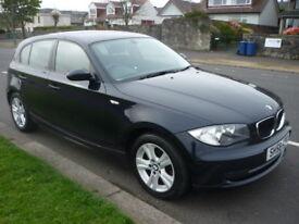 BMW 1 SERIES 118i 2.0i 16V 143BHP SE DYNAMIC PACK **Full Service History** (blue) 2008