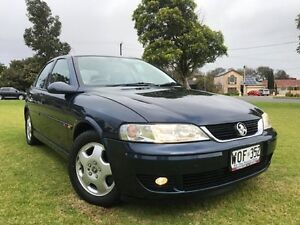 2001 Holden Vectra JS2 CD Blue 4 Speed Automatic Hatchback Somerton Park Holdfast Bay Preview