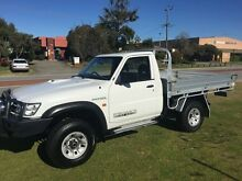 2006 Nissan Patrol GU 5 MY07 ST 4.2 TURBO COIL CAB White 5 Speed Manual Trayback Wangara Wanneroo Area Preview