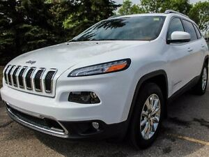 2016 Jeep Cherokee Limited 4x4 - Rear Back Up Camera - Full Sunr