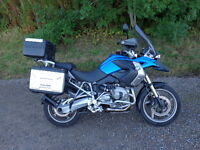 2011 BMW R1200 GS IN BLUE WITH BMW PANNIERS AND TOPBOX FINANCE AVAILABLE
