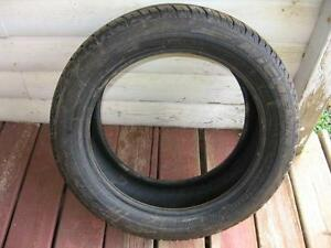 one only 205/50zr16 used tire  reference z1