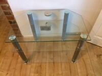 Glass table / TV stand
