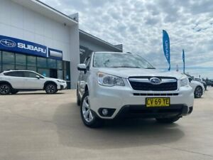 2013 Subaru Forester S4 MY14 2.5i-L Lineartronic AWD White 6 Speed Constant Variable Wagon Muswellbrook Muswellbrook Area Preview