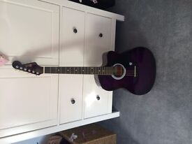 Lindo Acoustic Guitar - Purple