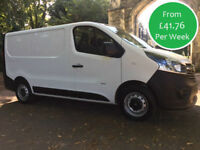 FROM £179.56 PER MONTH 2014 VAUXHALL VIVARO 1.6CDTi 115ps 2900 L1H1 1.6 DIESEL