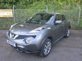 Nissan Juke 1.5 Tekna DCi Turbo Diesel 5DR (gunmetal grey) 2016