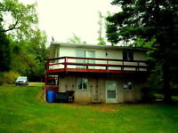 3 bed, 2 bath Conestogo Lake waterfront cottage on a big lot
