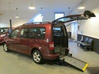 2011 Volkswagen Caddy Maxi Life 1.6 C20 LIFE TDI 5DR AUTOMATIC WHEELCHAIR CAR MP
