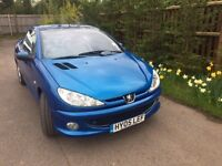 For Sale Peugeot 206 Allure Coupe Convertible