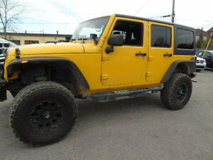 2011 Jeep Wrangler Unlimited Sport , LIFT KIT 35 INCH MUDDERS