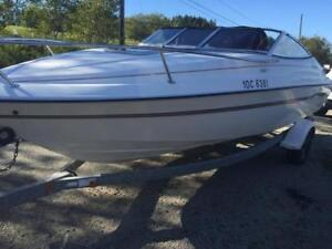 1998 Doral 21.6ft Cuddy Cabin and Trailer