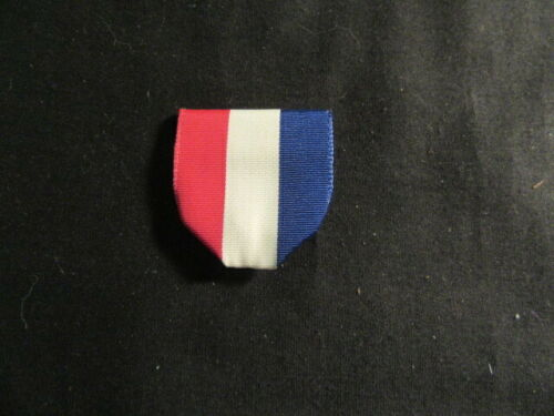Red White & Blue Replacement Ribbon With Pin and Ring       c77