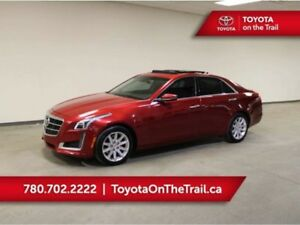 2014 Cadillac CTS Sedan LUXURY; CAR STARTER, AWD, V6, SUNROOF, L