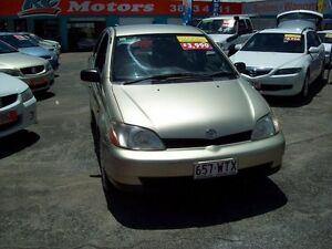2002 Toyota Echo NCP12R MY03 Gold 4 Speed Automatic Sedan Capalaba West Brisbane South East Preview