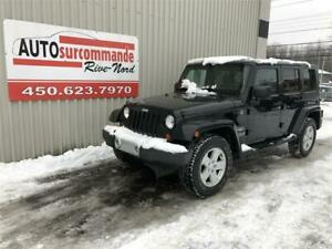 2010 Jeep Wrangler Unlimited Sahara -- GARANTIE 1AN /15 000 KMS-