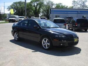 2006 MAZDA 6 GT, HEATED LEATHER, SUNROOF, SAFETY&WARRANTY,$4,950