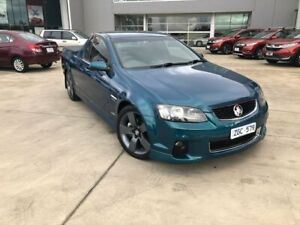 2012 Holden Ute VE II SS Thunder Green 6 Speed Sports Automatic Utility Ravenhall Melton Area Preview