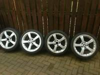 18 inch genuine bmw split rims