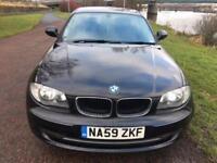 2009 59 BMW 1 SERIES 2.0 116I SPORT 3D 121 BHP