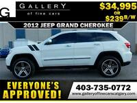 2012 Grand Cherokee OVERLAND $239 bi-weekly APPLY NOW DRIVE NOW