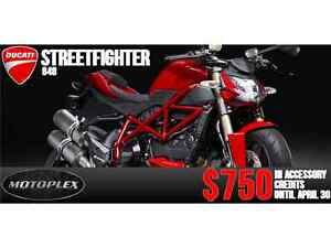 2013-2015 Ducati Streetfigther 848 END OF MONTH PRICING